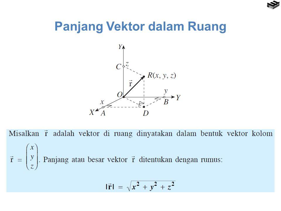 Panjang Vektor dalam Ruang