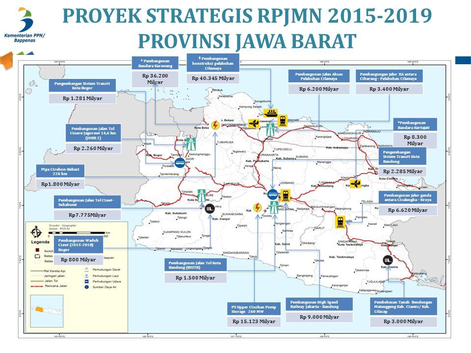 PROYEK STRATEGIS RPJMN 2015-2019 PROVINSI JAWA BARAT