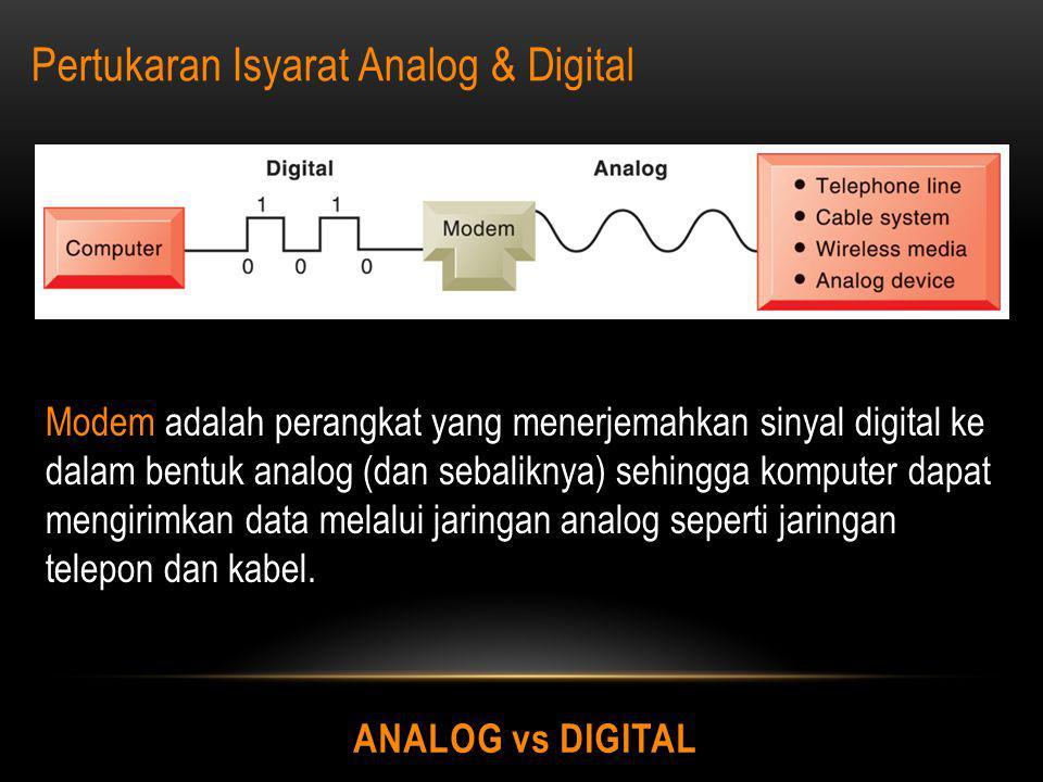 Pertukaran Isyarat Analog & Digital