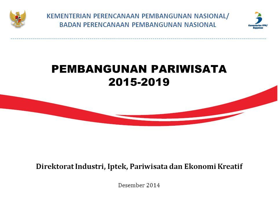PEMBANGUNAN PARIWISATA 2015-2019