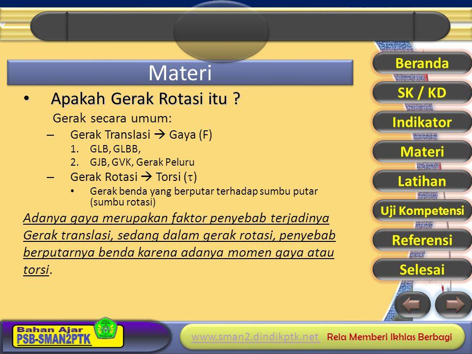 Materi Apakah Gerak Rotasi itu Beranda SK / KD Indikator Materi