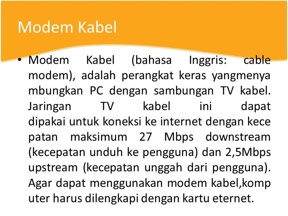 Modem Kabel