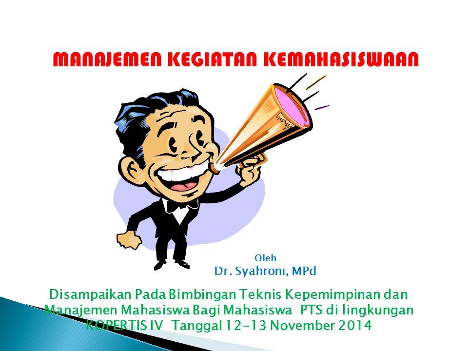 KOPERTIS IV Tanggal 12-13 November 2014