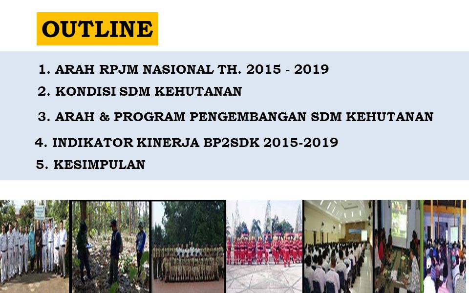 4. INDIKATOR KINERJA BP2SDK 2015-2019
