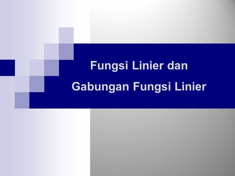 Gabungan Fungsi Linier