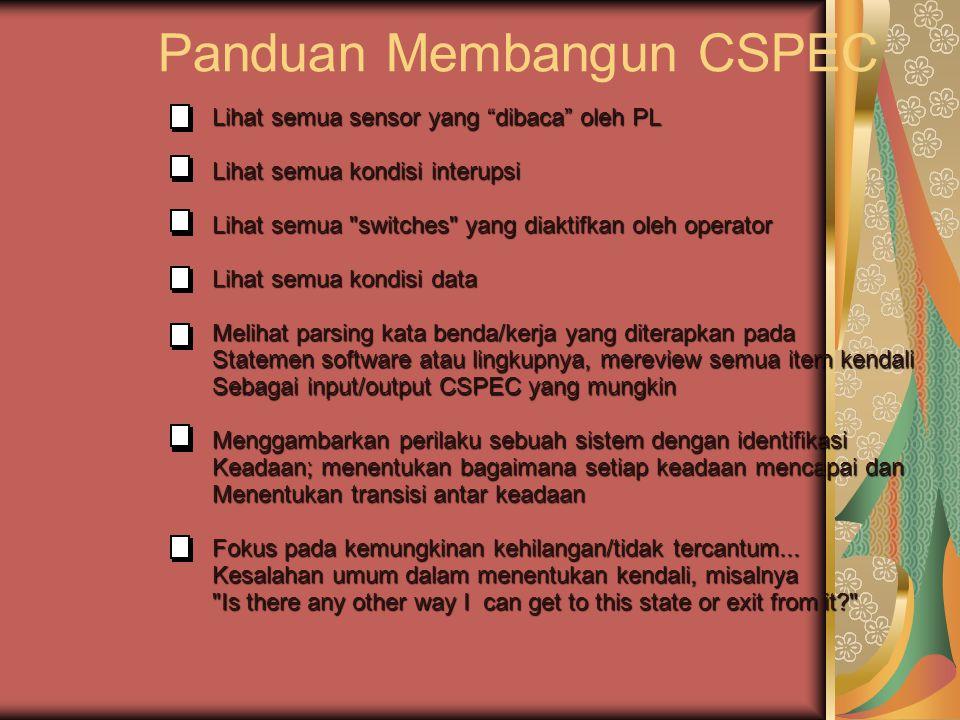 Panduan Membangun CSPEC