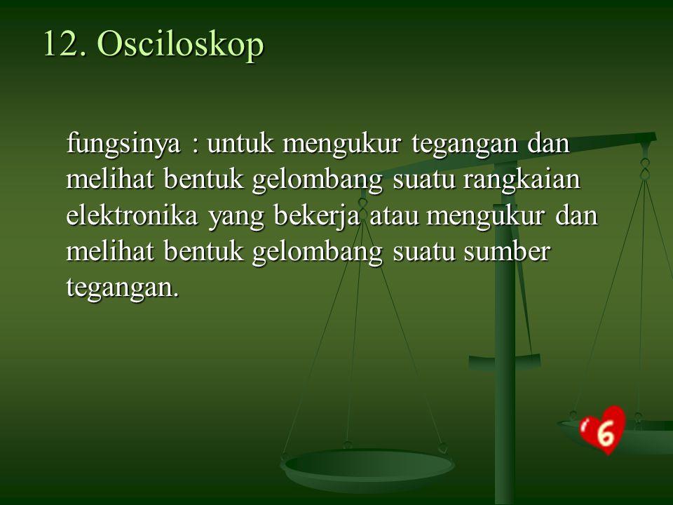 12. Osciloskop