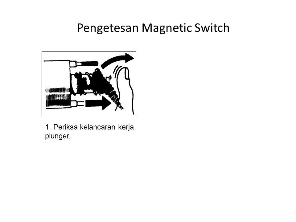 Pengetesan Magnetic Switch