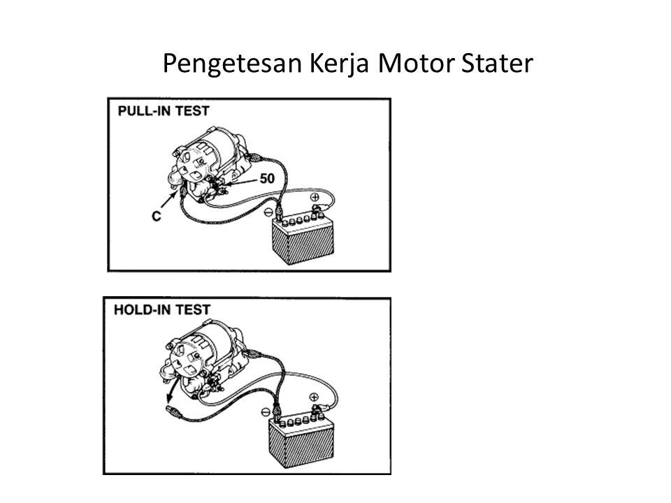 Pengetesan Kerja Motor Stater