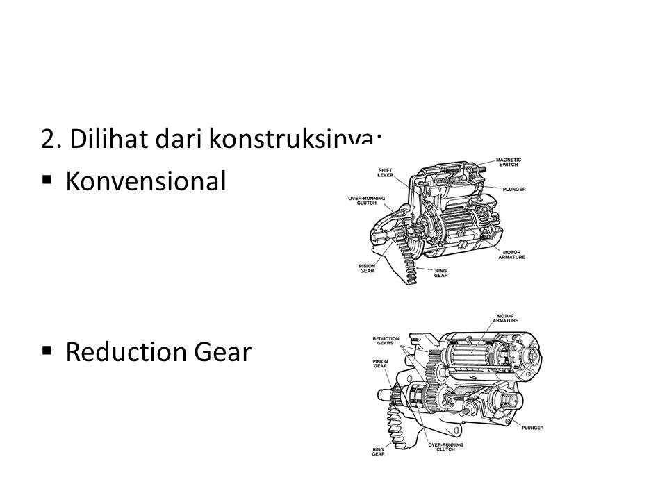 2. Dilihat dari konstruksinya: