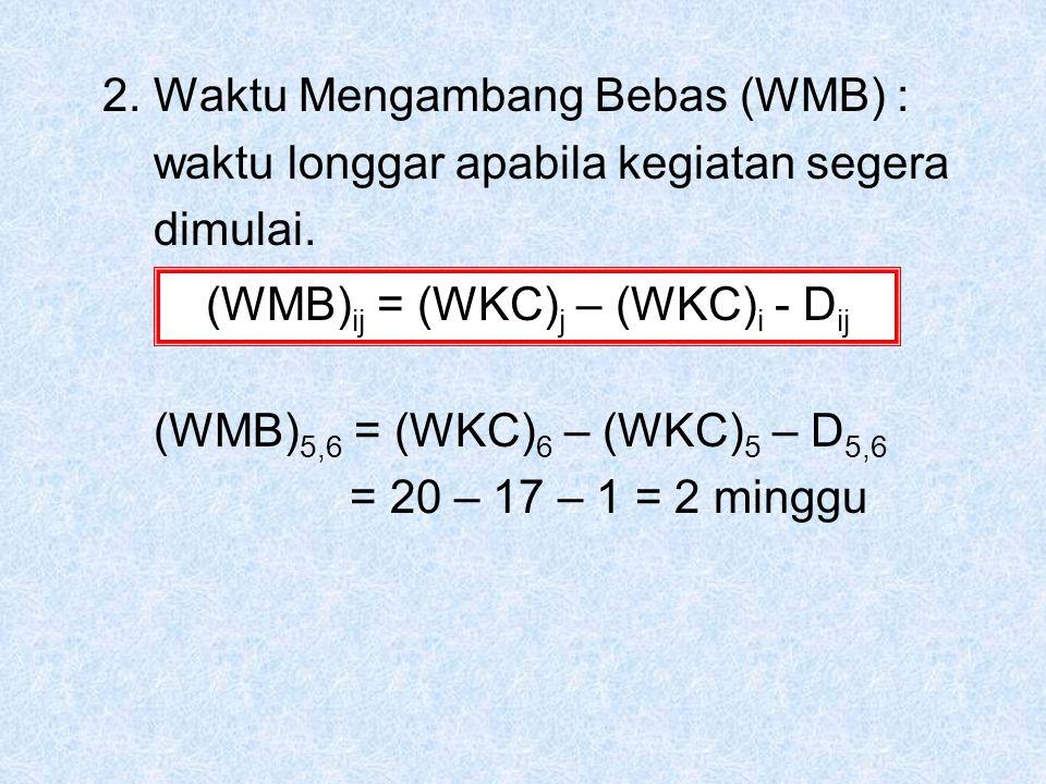 (WMB)ij = (WKC)j – (WKC)i - Dij