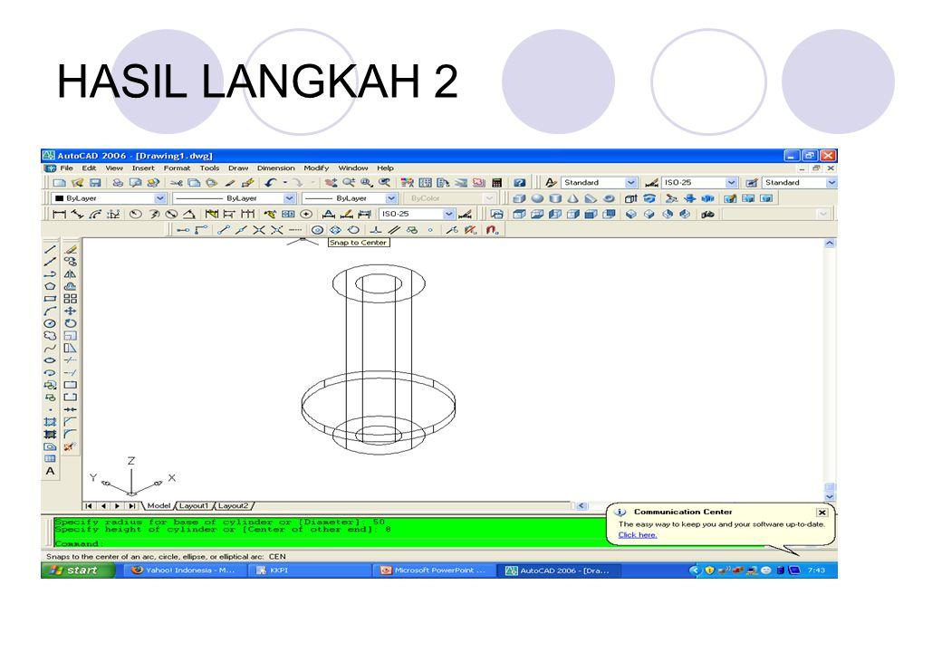 HASIL LANGKAH 2