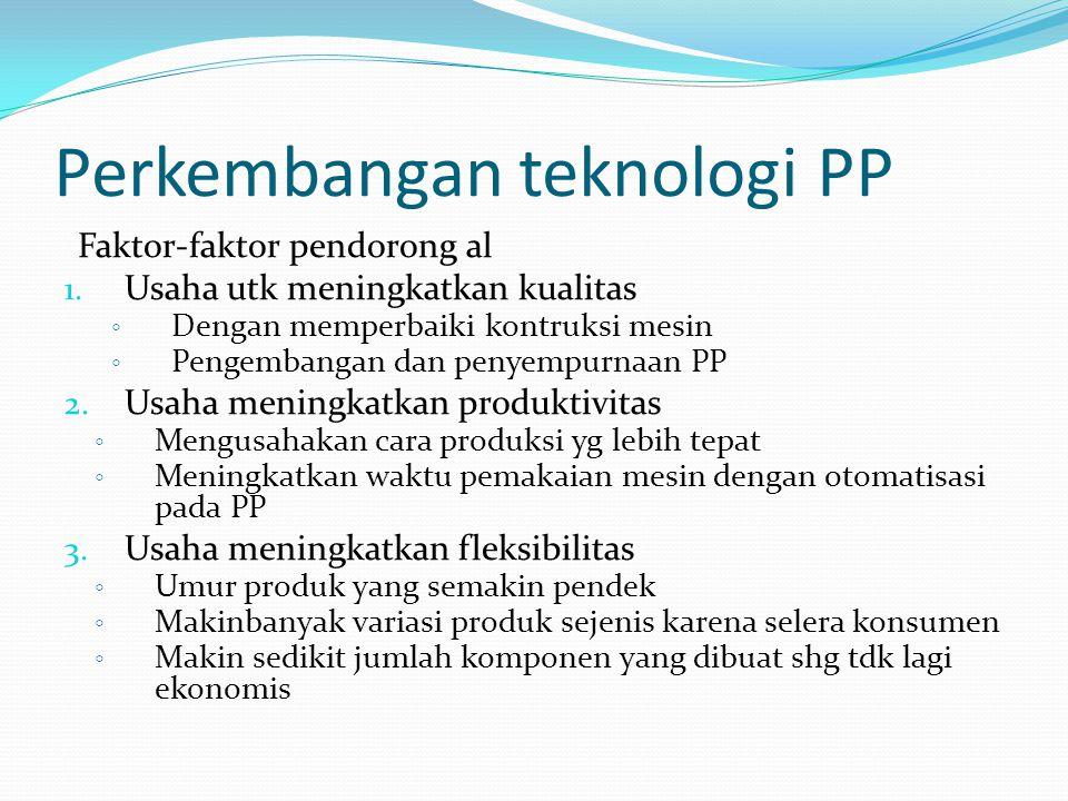 Perkembangan teknologi PP