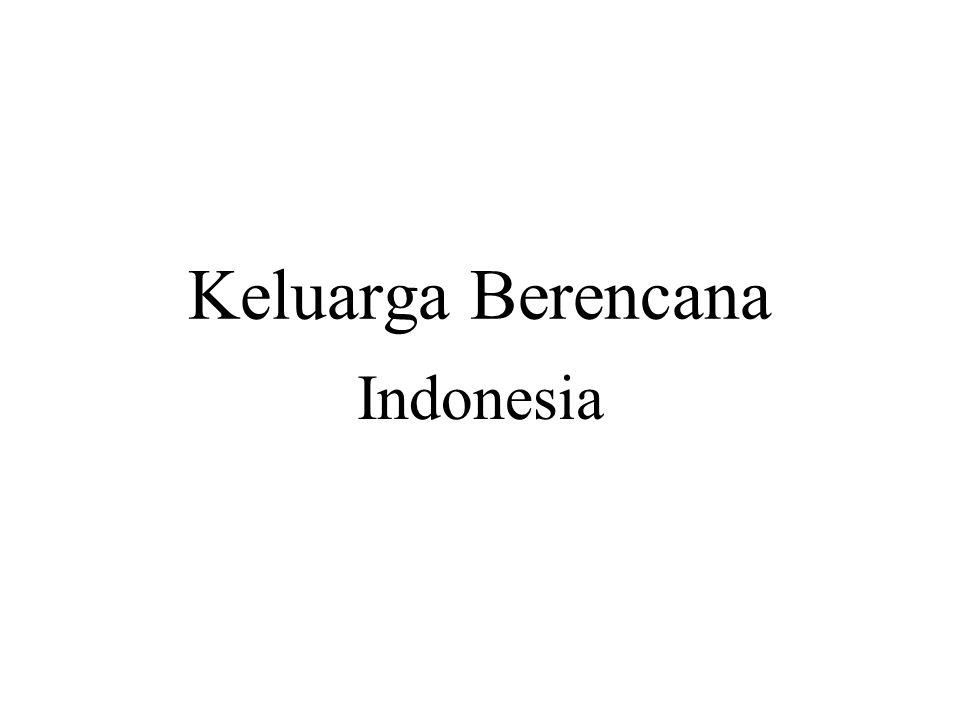 Keluarga Berencana Indonesia