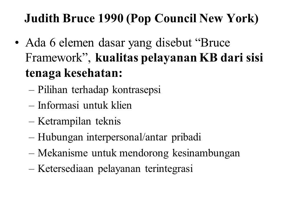 Judith Bruce 1990 (Pop Council New York)