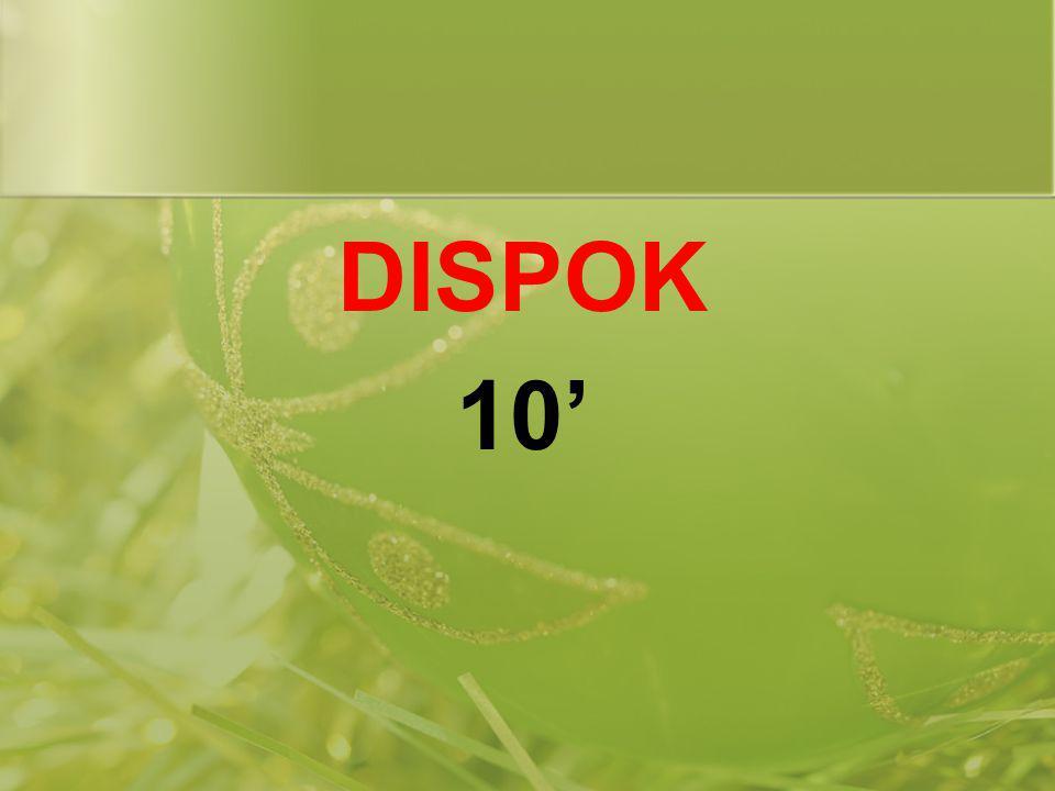 DISPOK 10'