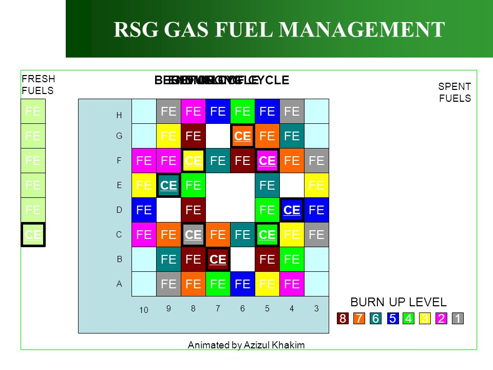 RSG GAS FUEL MANAGEMENT