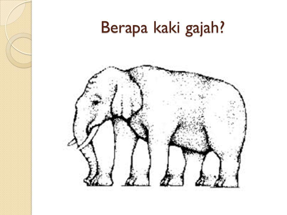 Berapa kaki gajah