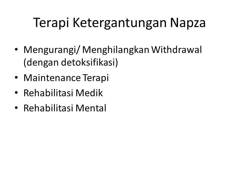 Terapi Ketergantungan Napza