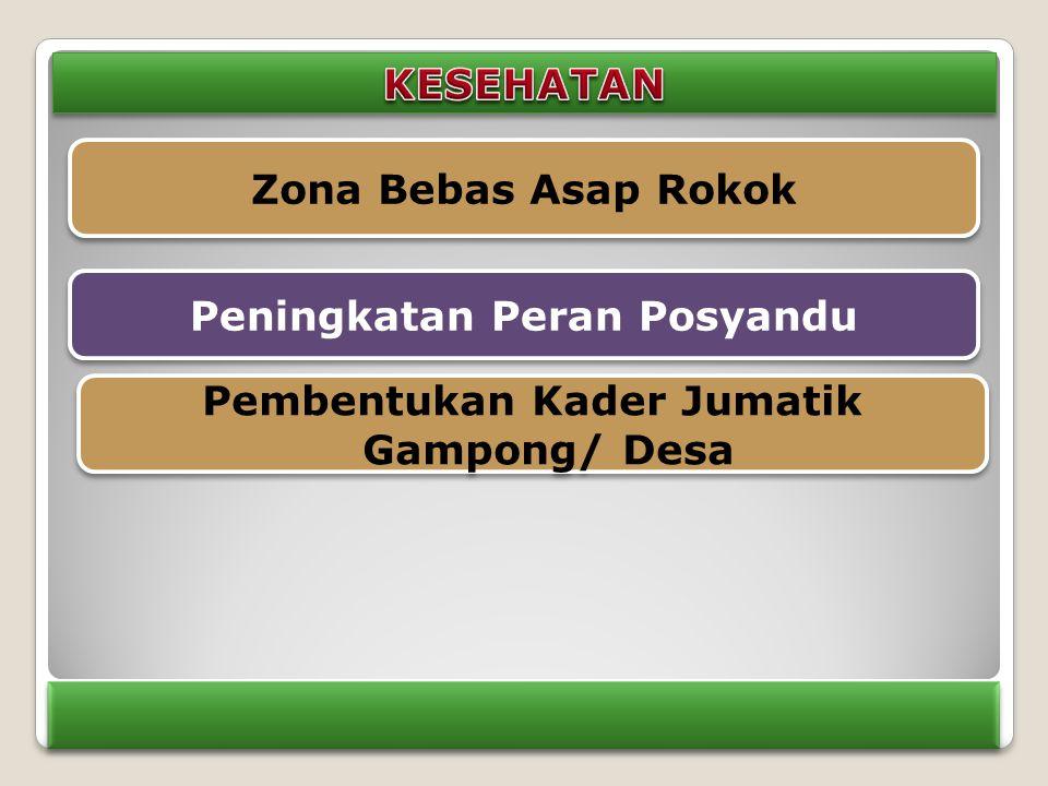 Peningkatan Peran Posyandu Pembentukan Kader Jumatik Gampong/ Desa