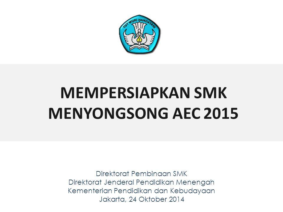 MEMPERSIAPKAN SMK MENYONGSONG AEC 2015