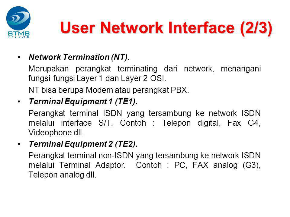 User Network Interface (2/3)