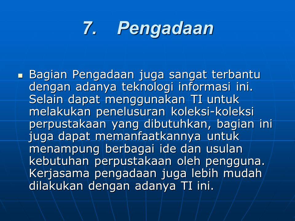 7. Pengadaan