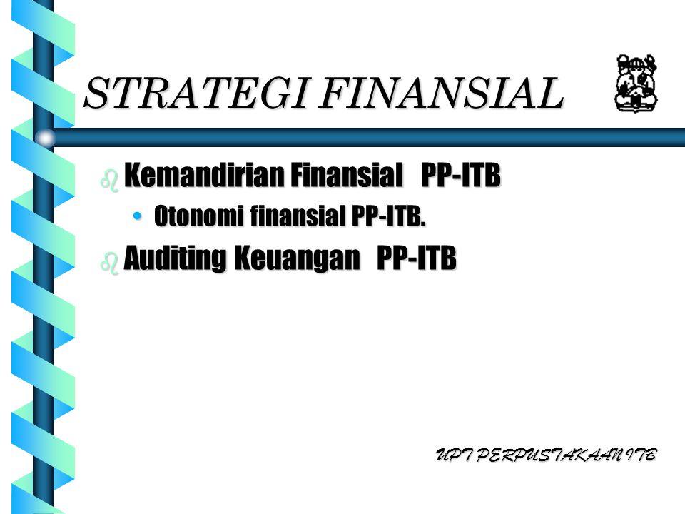 STRATEGI FINANSIAL Kemandirian Finansial PP-ITB