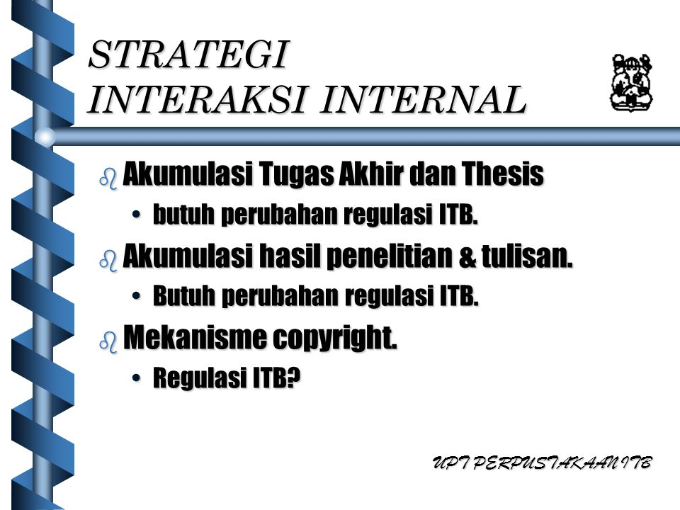 STRATEGI INTERAKSI INTERNAL