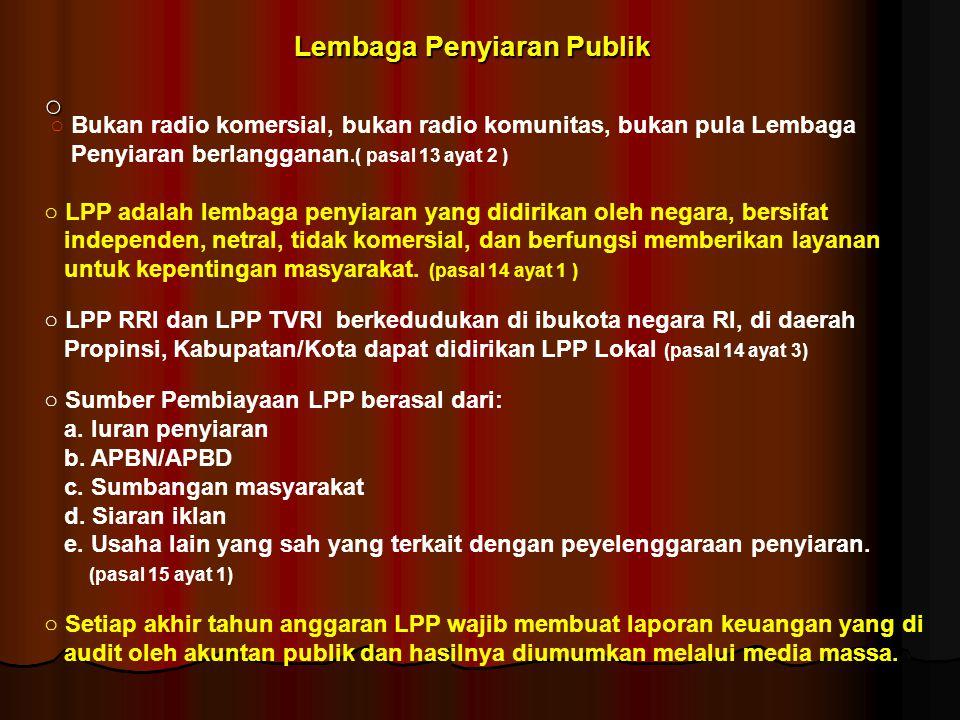 Lembaga Penyiaran Publik
