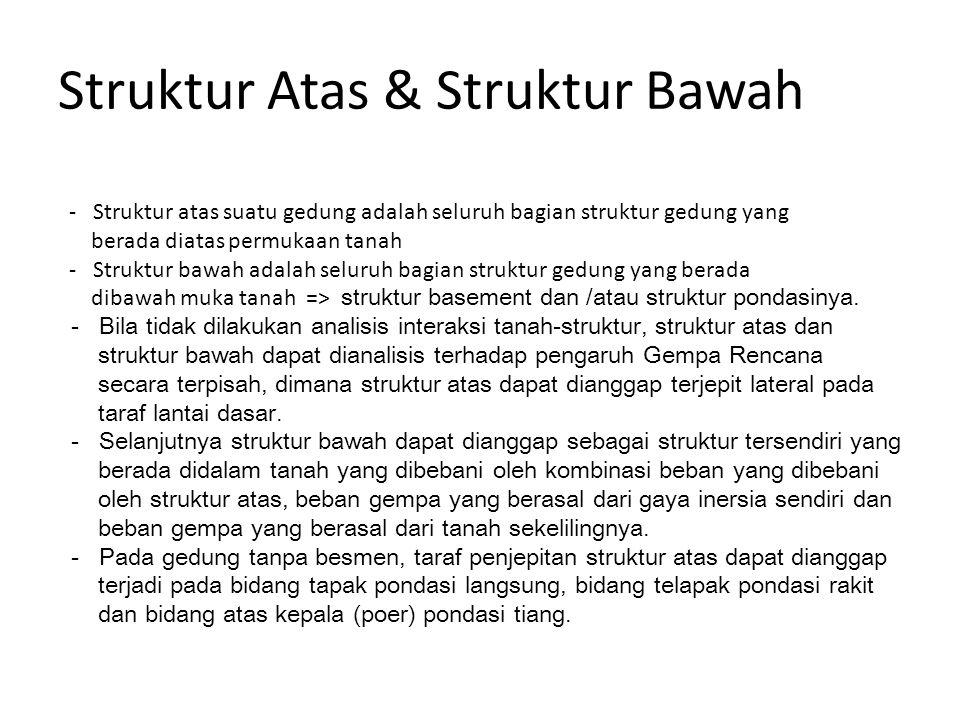 Struktur Atas & Struktur Bawah