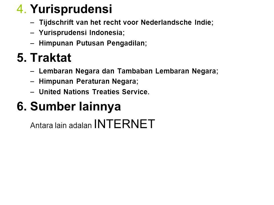 Antara lain adalan INTERNET