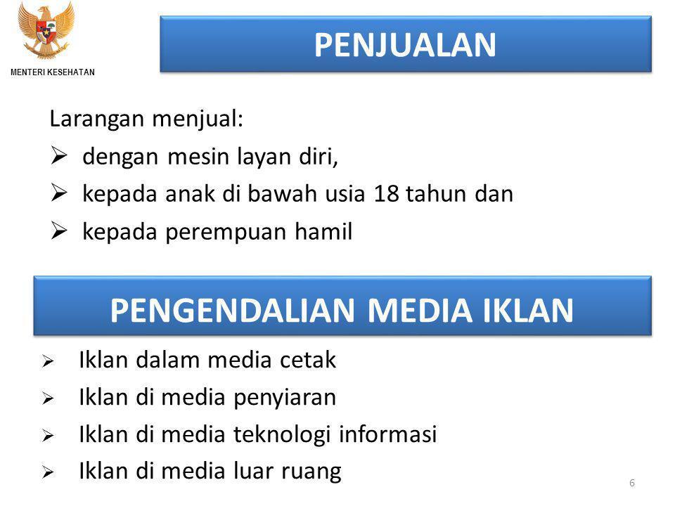 PENGENDALIAN MEDIA IKLAN