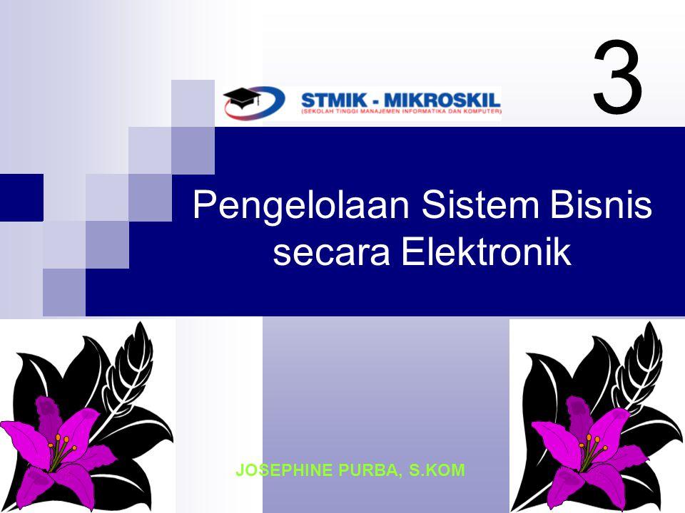 Pengelolaan Sistem Bisnis secara Elektronik