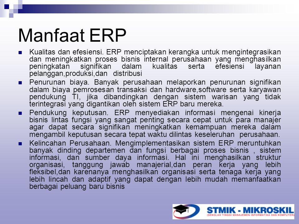 Manfaat ERP