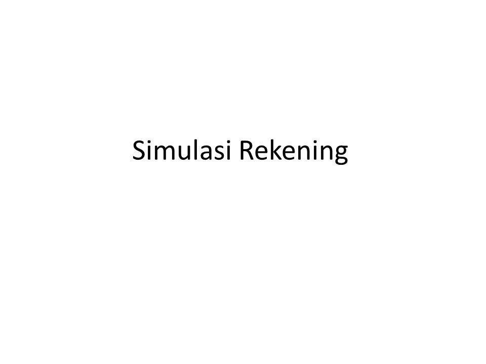 Simulasi Rekening