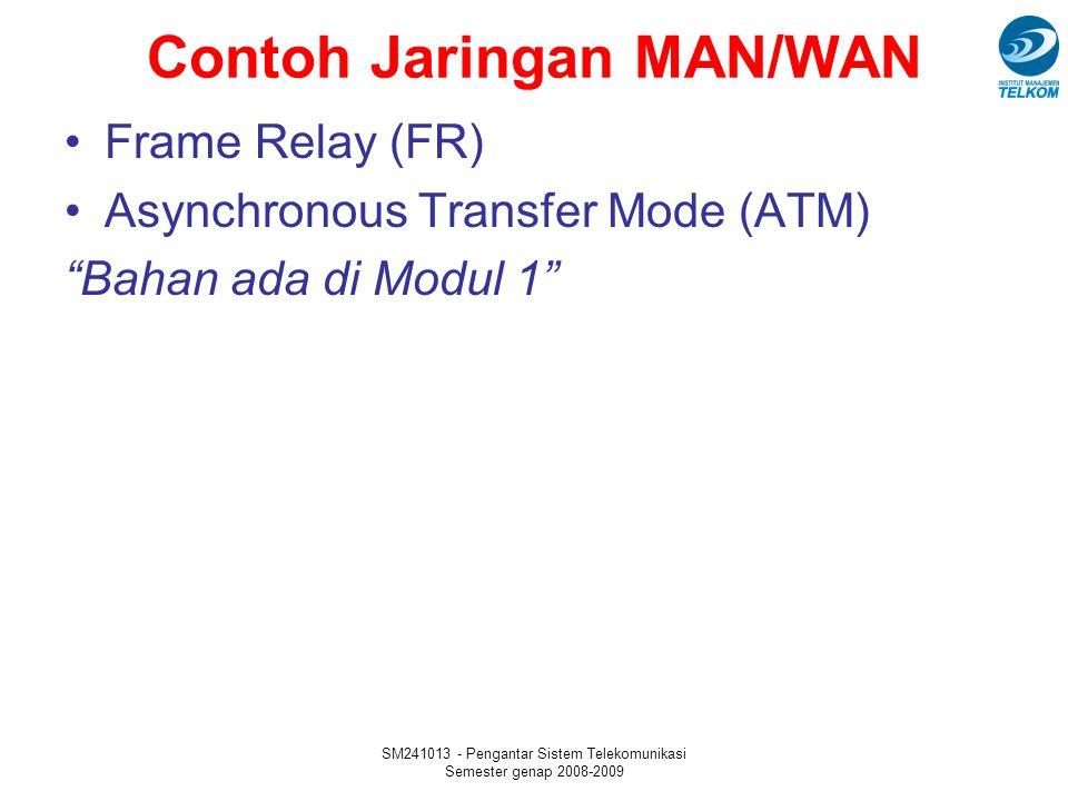 Contoh Jaringan MAN/WAN