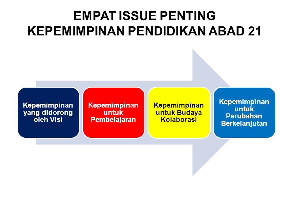 EMPAT ISSUE PENTING KEPEMIMPINAN PENDIDIKAN ABAD 21