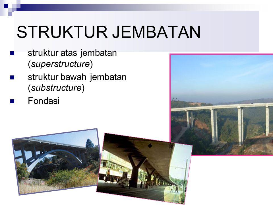 STRUKTUR JEMBATAN struktur atas jembatan (superstructure)