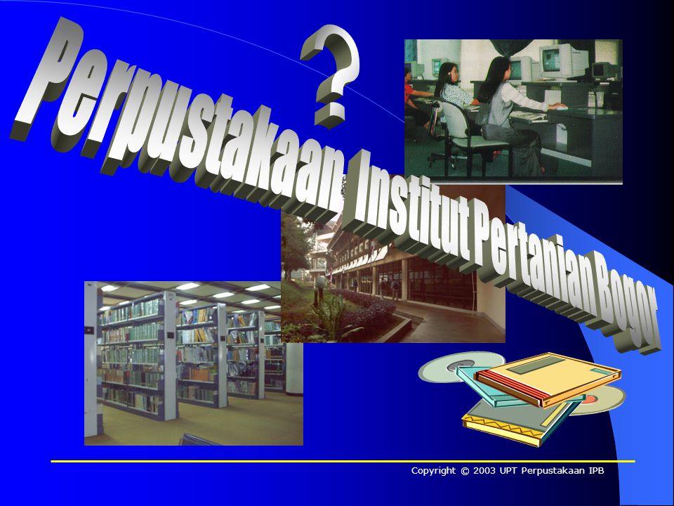 Perpustakaan Institut Pertanian Bogor