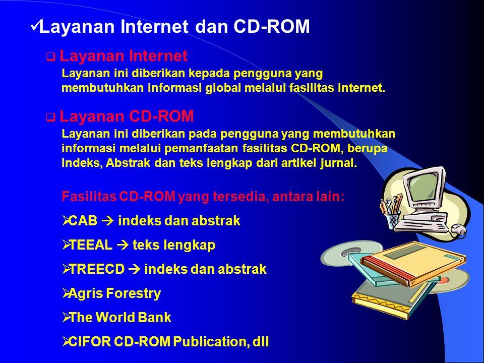 Layanan Internet dan CD-ROM