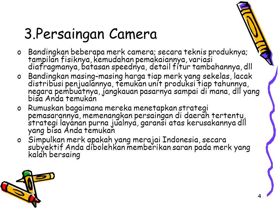 3.Persaingan Camera