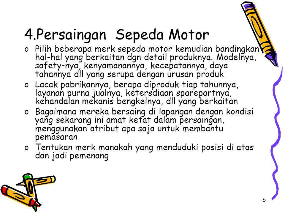 4.Persaingan Sepeda Motor