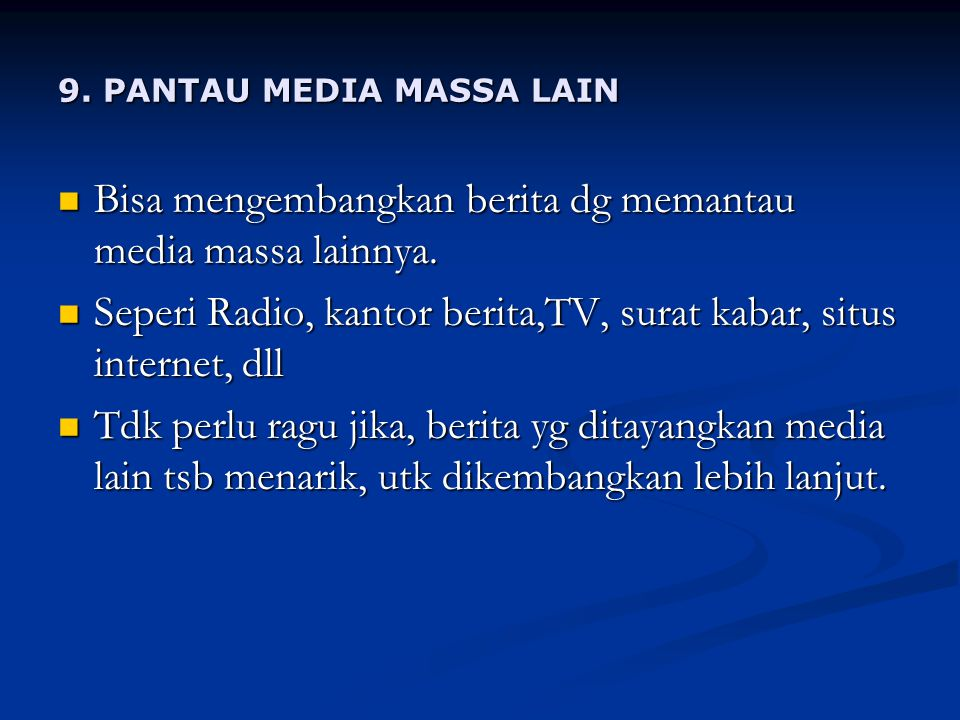 9. PANTAU MEDIA MASSA LAIN