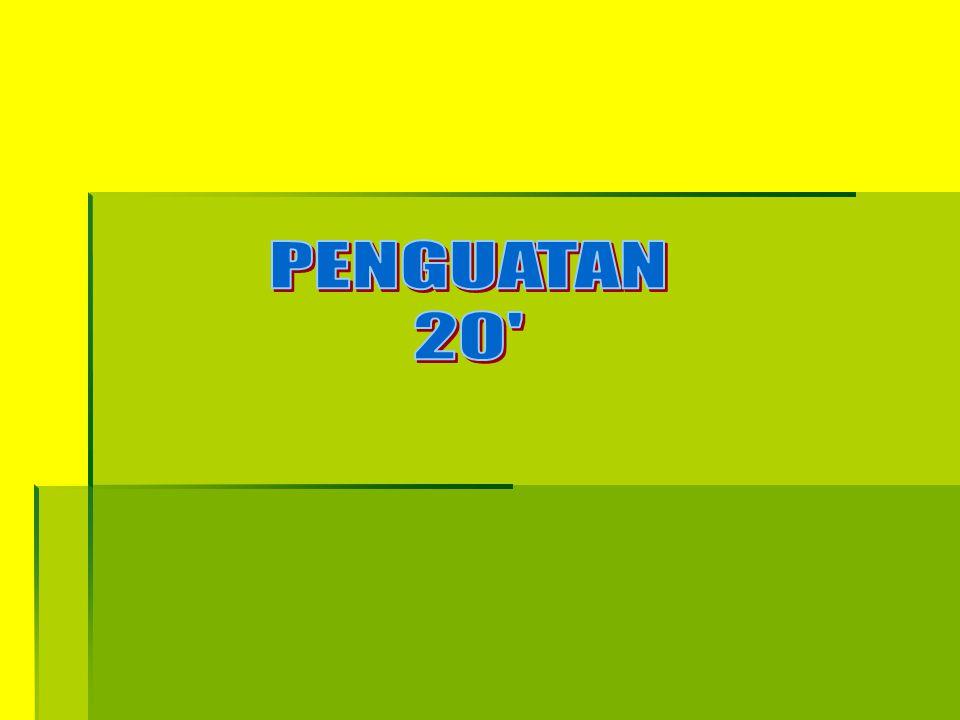 PENGUATAN 20
