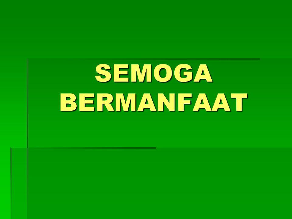 SEMOGA BERMANFAAT 59