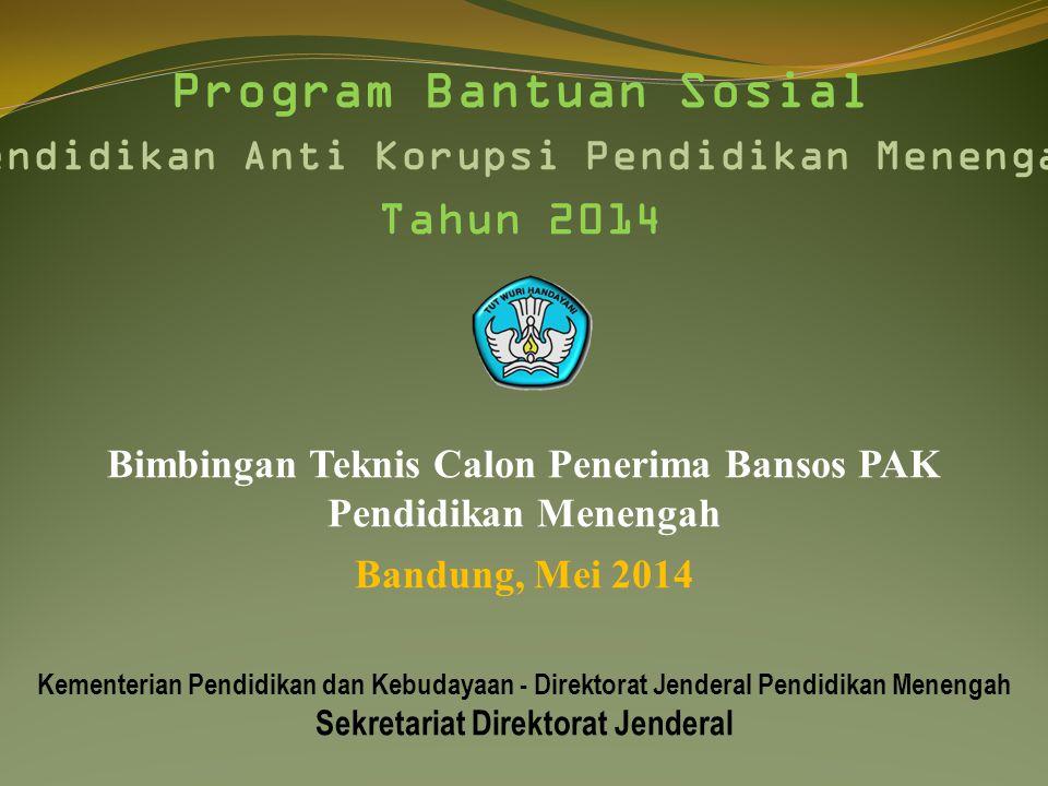 Program Bantuan Sosial