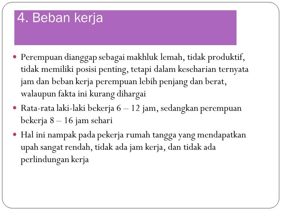 4. Beban kerja