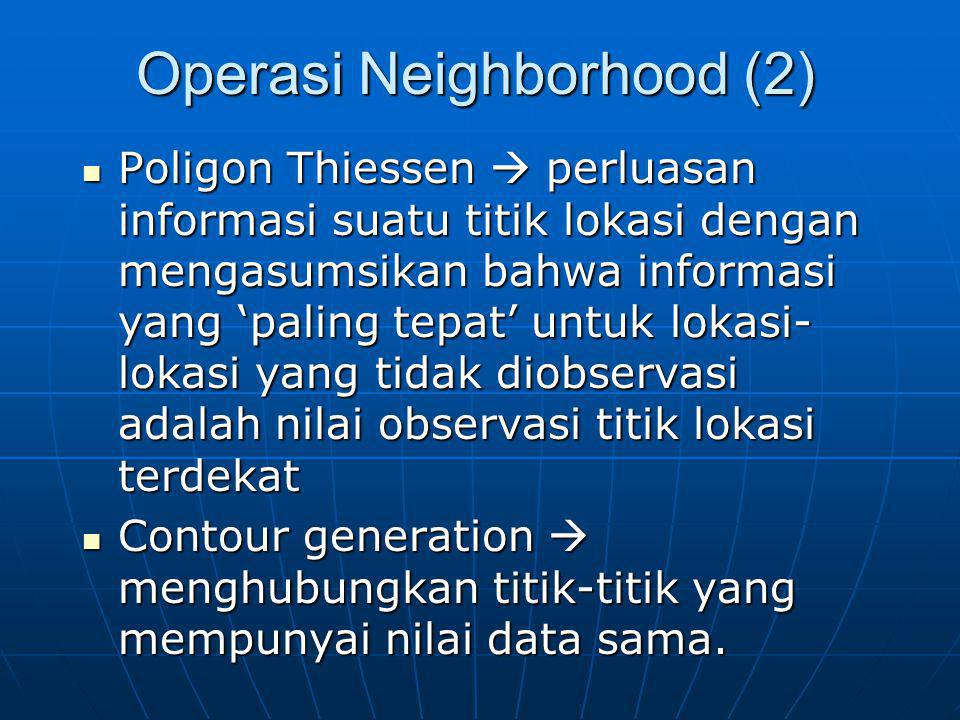 Operasi Neighborhood (2)