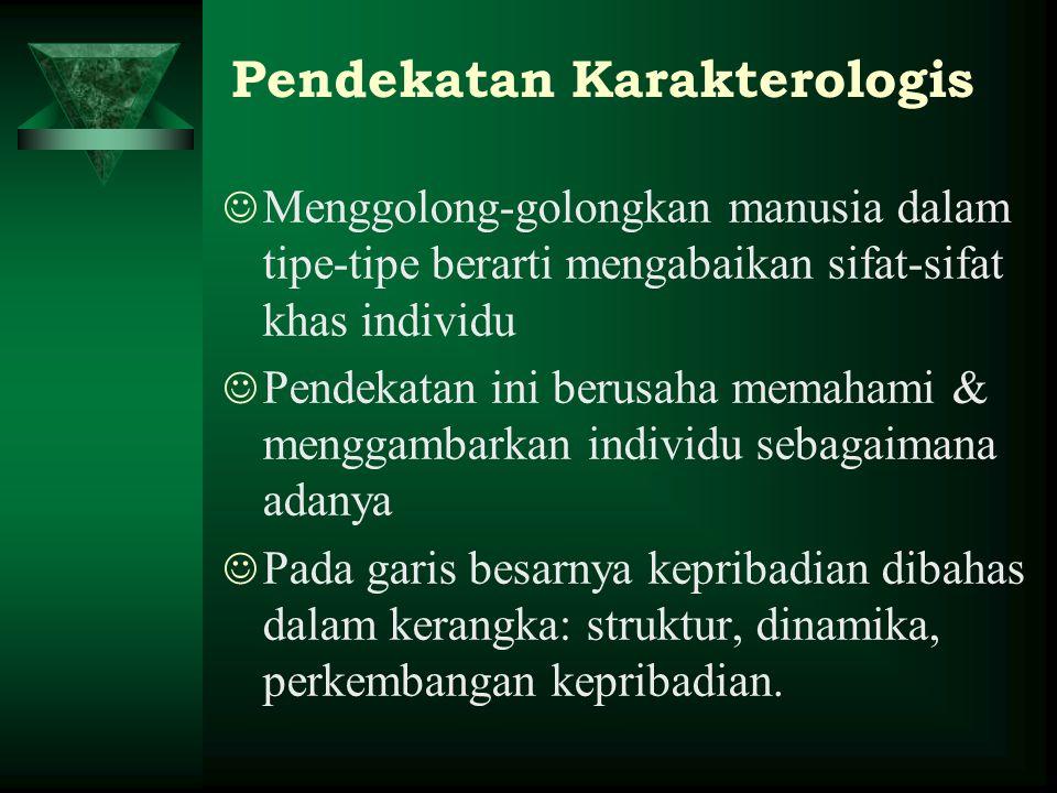 Pendekatan Karakterologis
